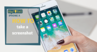 iPhone X: How to take a screenshot
