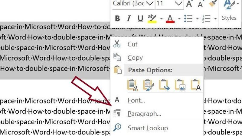 """Finding the option """"Paragraph"""" in Microsoft Word"""