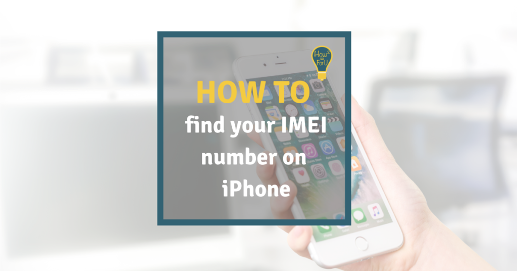How to find your IMEI number on iPhone