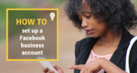 Facebook: How to set up a business account