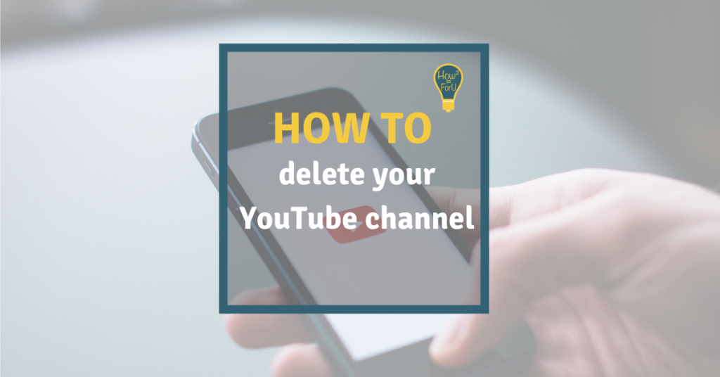 How to delete your YouTube channel
