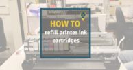 How to refill printer ink cartridges