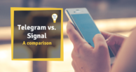 Telegram vs. Signal App - A comparison