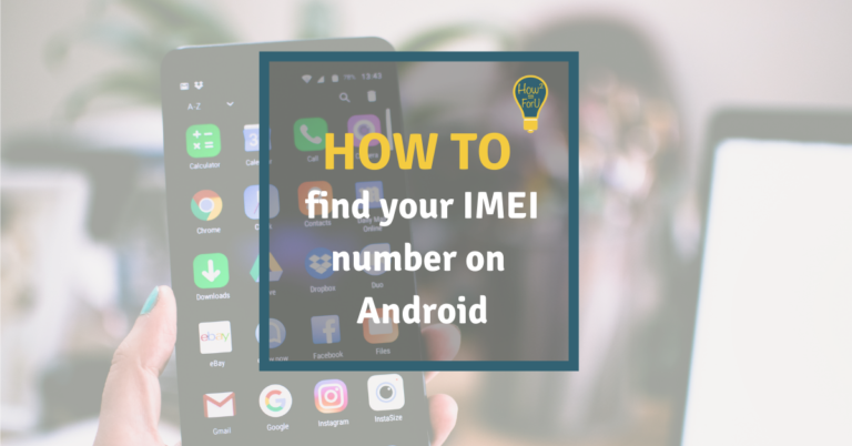 How to find your IMEI number on Android