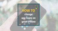 How to change app icons on your iPhone