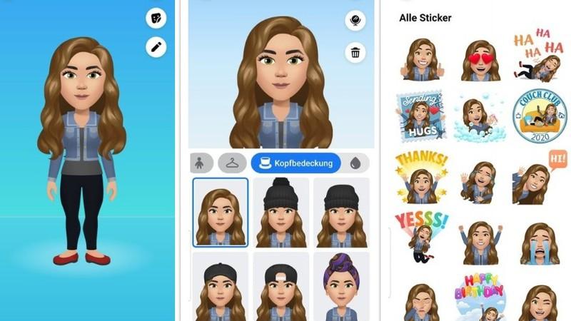 How to create a Facebook avatar