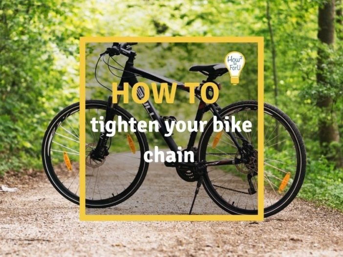 How to tighten your bike chain
