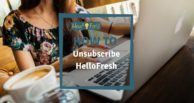 HelloFresh: How to unsubscribe
