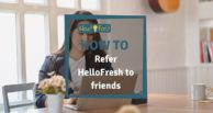 HelloFresh: How to refer a friend
