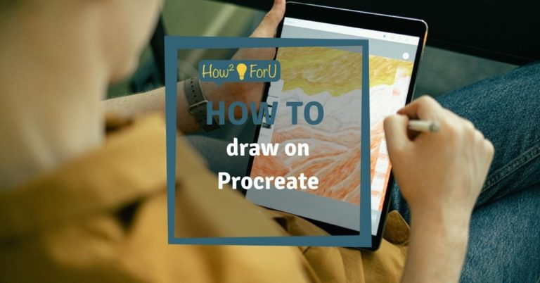 How to draw on Procreate