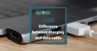 USB: This is the difference between charging and data cable