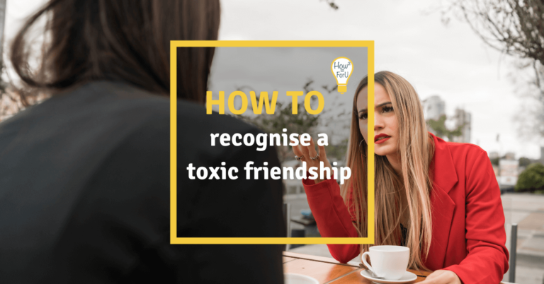 "Teaser image for the article ""How to recognise a toxic friendship"""
